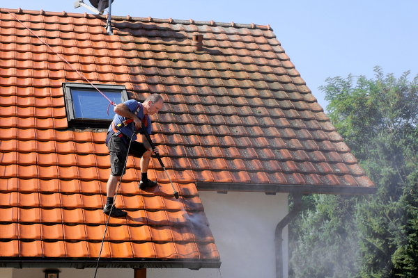 How To Clean A Clay Tile Roof Doityourself Com