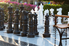 A giant chess set.