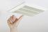 touching a ceiling exhaust fan