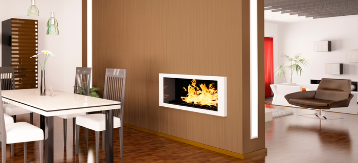 5 Common Problems with a Two-sided Fireplace | DoItYourself.com