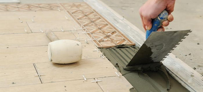 How To Tile A Kitchen Floor Doityourself