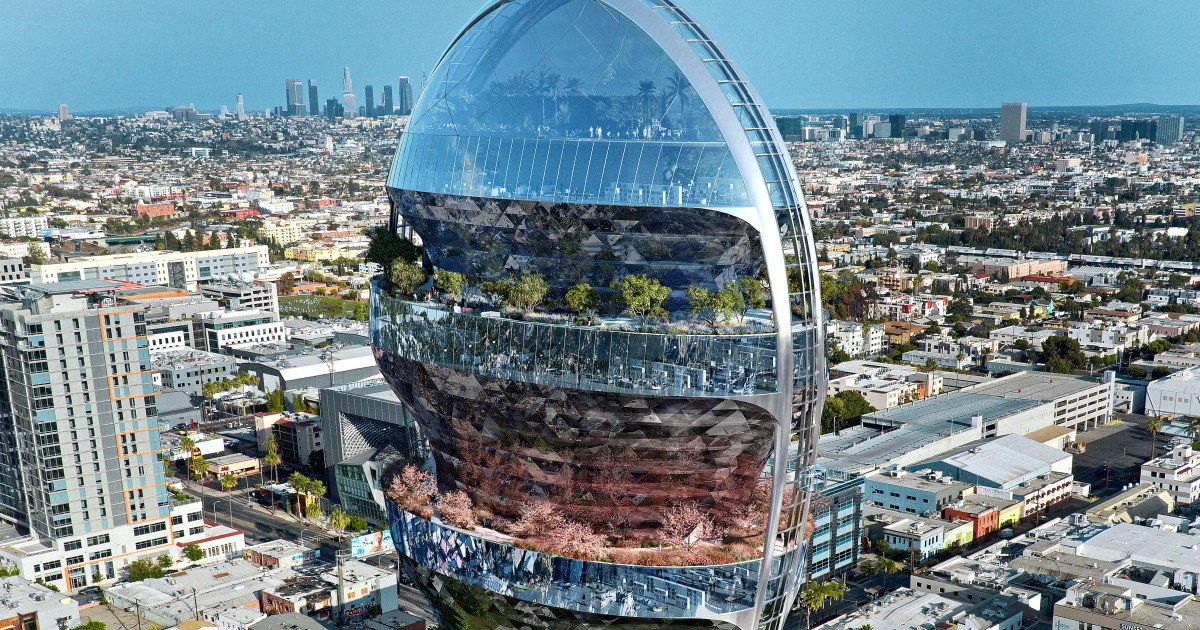 A Star is Born with MAD Architects' New Hollywood Office High-Rise