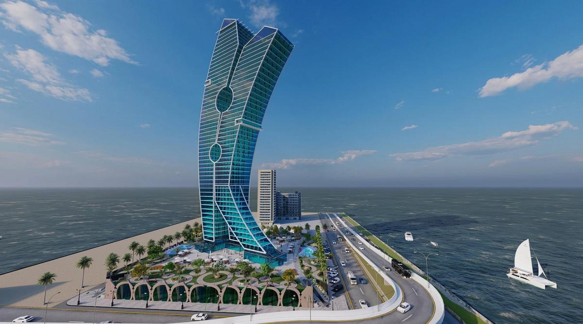 Dubai is Getting a Wacky Clothespin-Shaped Tower in 2023