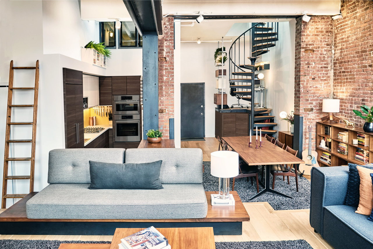 OSSO Architecture Turns Old Paper Factory Into Hip Brooklyn Loft