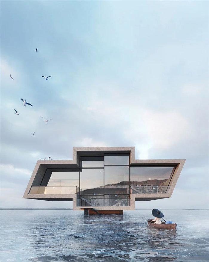 Renderings for Karina Wiciak's concrete