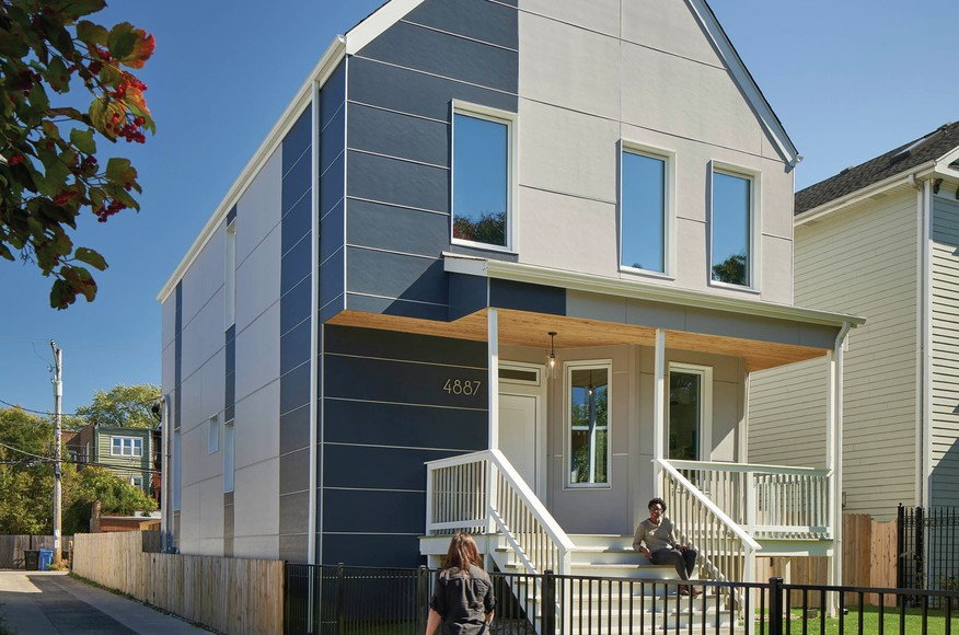 Chicago Gets Its First Renovated Passive House
