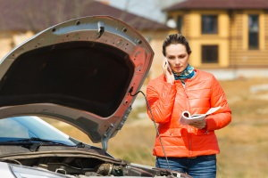 roadside breakdown, car trouble