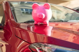 budget for car, car purchase, piggybank