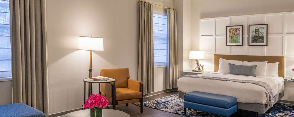 Heathman Hotel Guest Suite