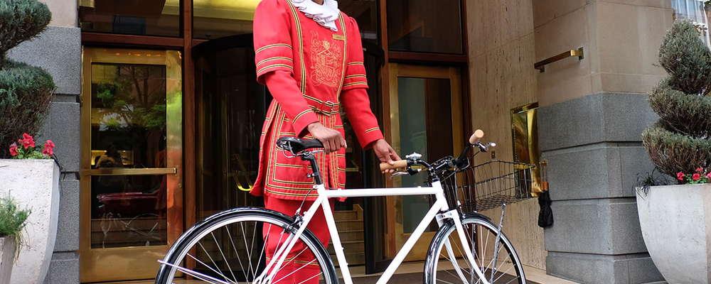Heathman Hotel Shinola Bikes