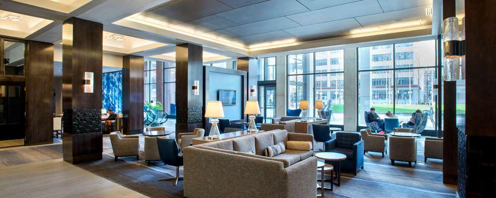 Boston Marriott Cambridge, lobby