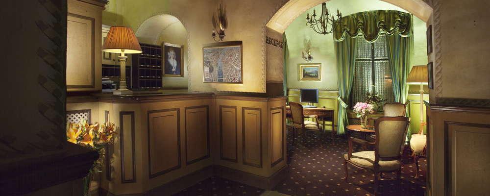 Reception - lobby Hotel Pod Vezi
