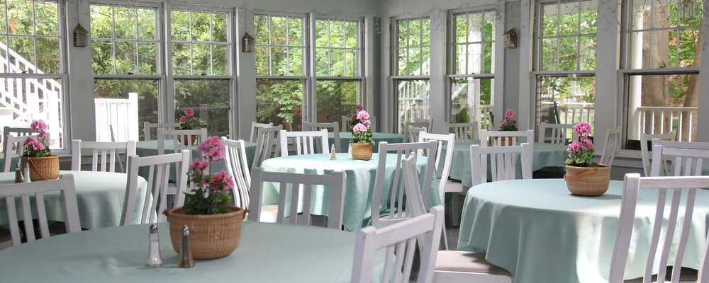 Sunporch Dining Room