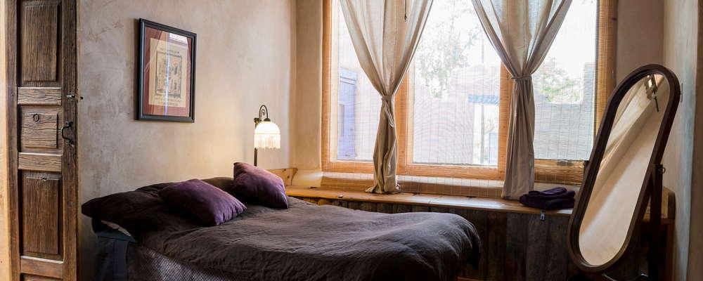 Bedroom in the Silverado Suite