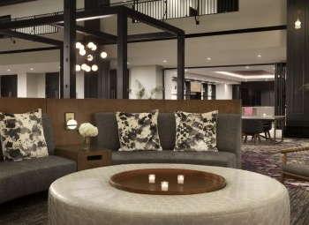 Hyatt Regency Savannah restyled lobby.