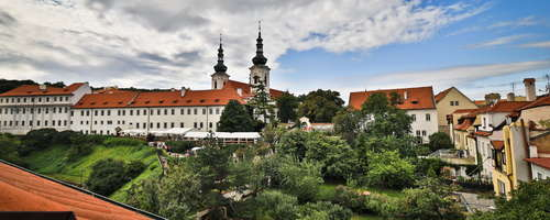 View of the Strahov Monastery which we are part of.
