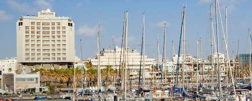 The Carlton Tel Aviv overlooking the marina