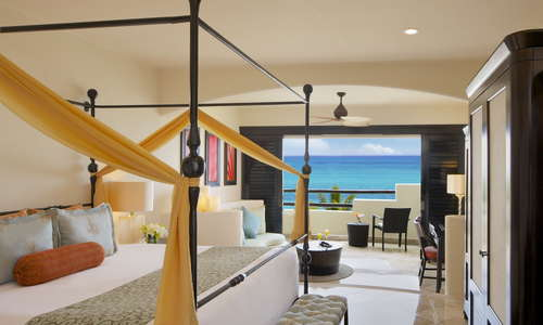 Preferred Club Junior Suite Ocean Front at Secrets Maroma Beach Riviera Cancun