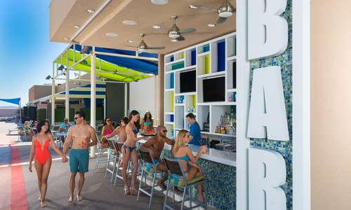 Bar at Elation Pool