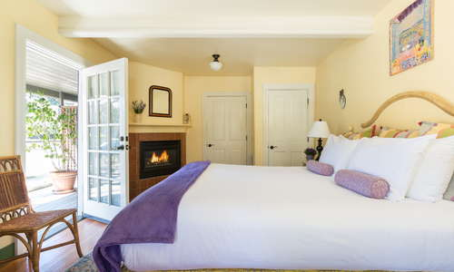 Guest room at Lavender in Yountville, Napa Valley