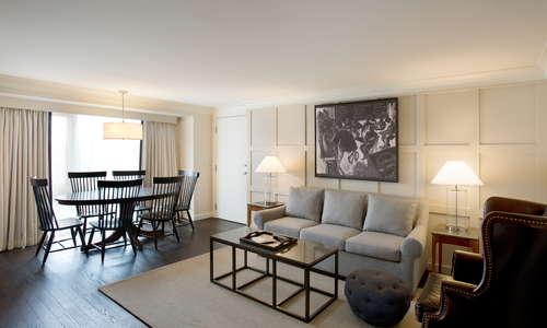 Chancellor Suite Living Room