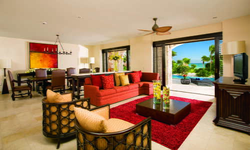 Presidential Suite with Swim Out pool at Secrets Maroma Beach Riviera Cancun