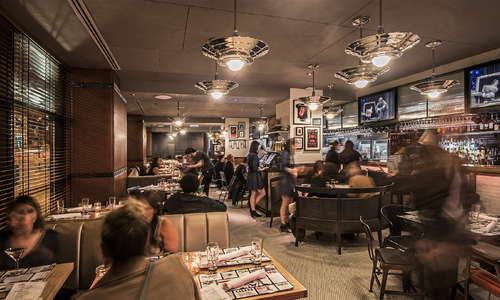 Miss Ricky's, the hotel's all-american diner