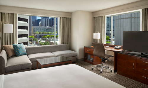 Our luxurious and spacious rooms will allow for the most restful sleep to have you will be refreshed and ready to experience Toronto