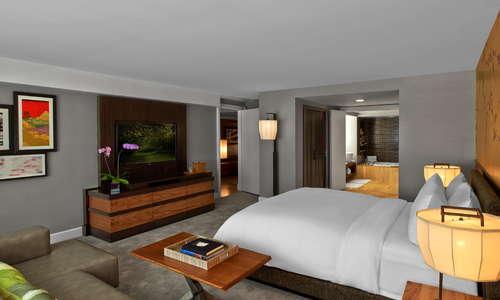 Sake Suite Master Bedroom