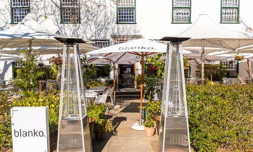 Blanko Restaurant - The Alphen Boutique Hotel