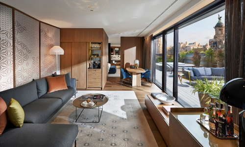 Barcelona Suite Living Room
