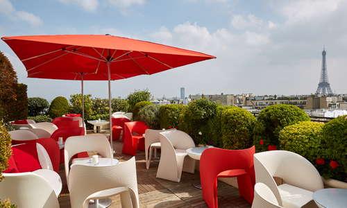 Panoramic Terrace - Champagne Bar