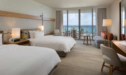 Junior Suite - Queen Beds Ocean View