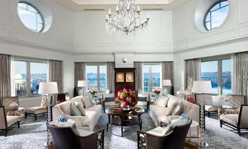 Presidential Suite, Living Room