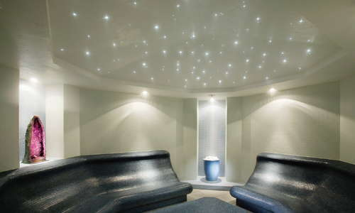 Spa Amethyst Crystal Steam Room