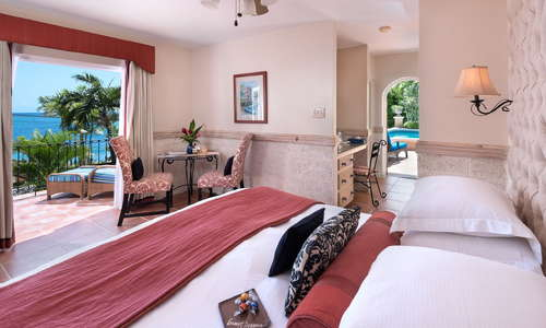 Little Arches Boutique Hotel: Ocean Deluxe Room.