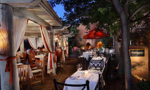 The tranquil, inviting Luminaria Restaurant & Patio offers guests a globally inspired menu and Southwestern charm.