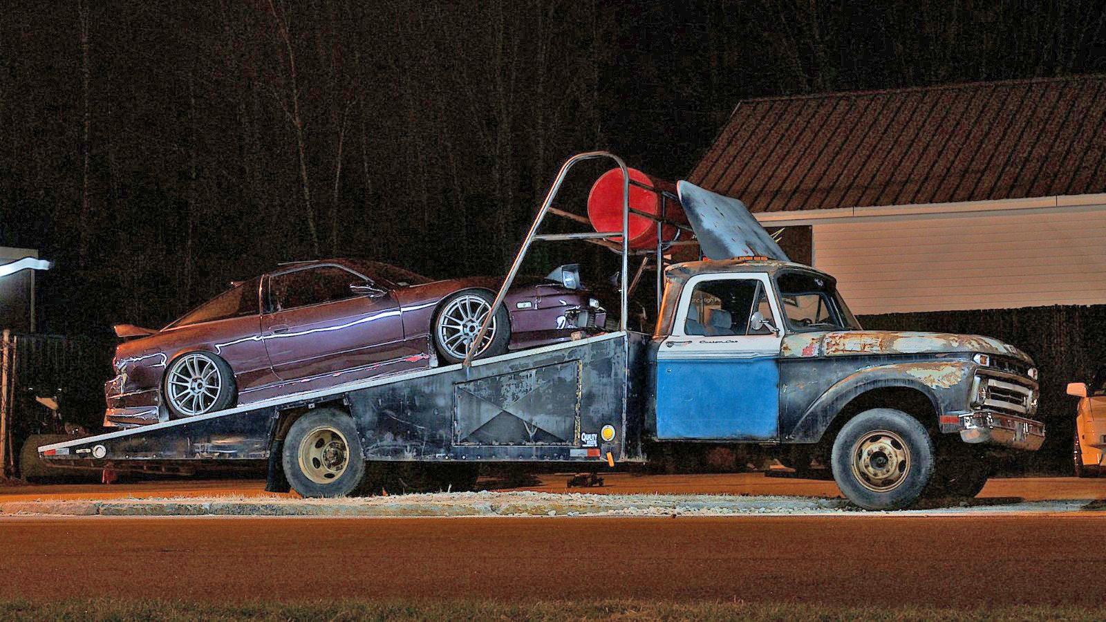 1965 Ford F 350 Ramp Truck Proves An Irresistible Purchase Ford
