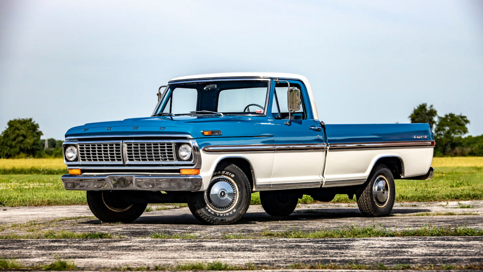Stunning 1970 F 100 Headed To Gone Farmin Auction Ford Trucks