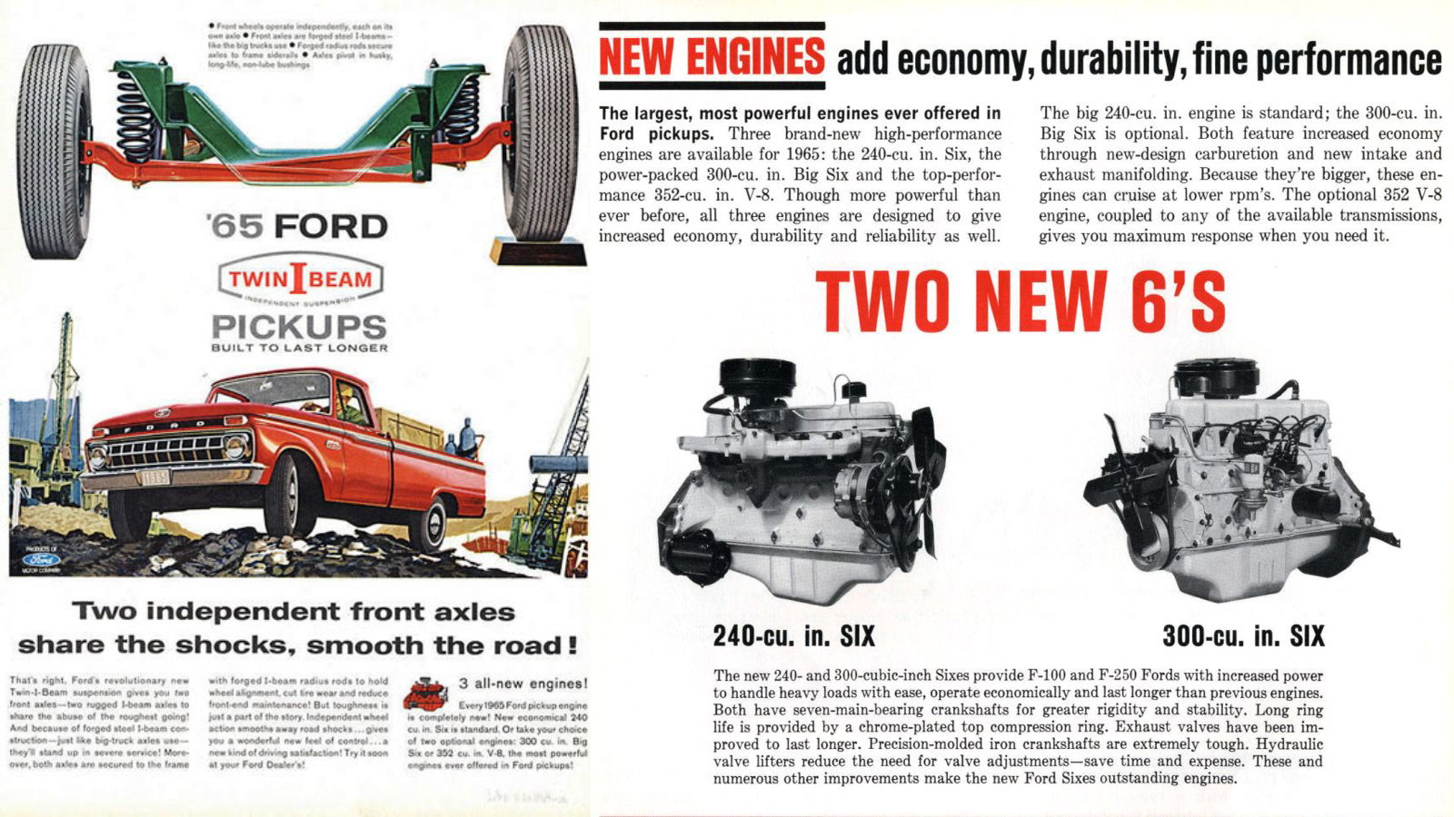 5 Reasons Why the 4 9/300 Ford Six is the Best Truck Engine