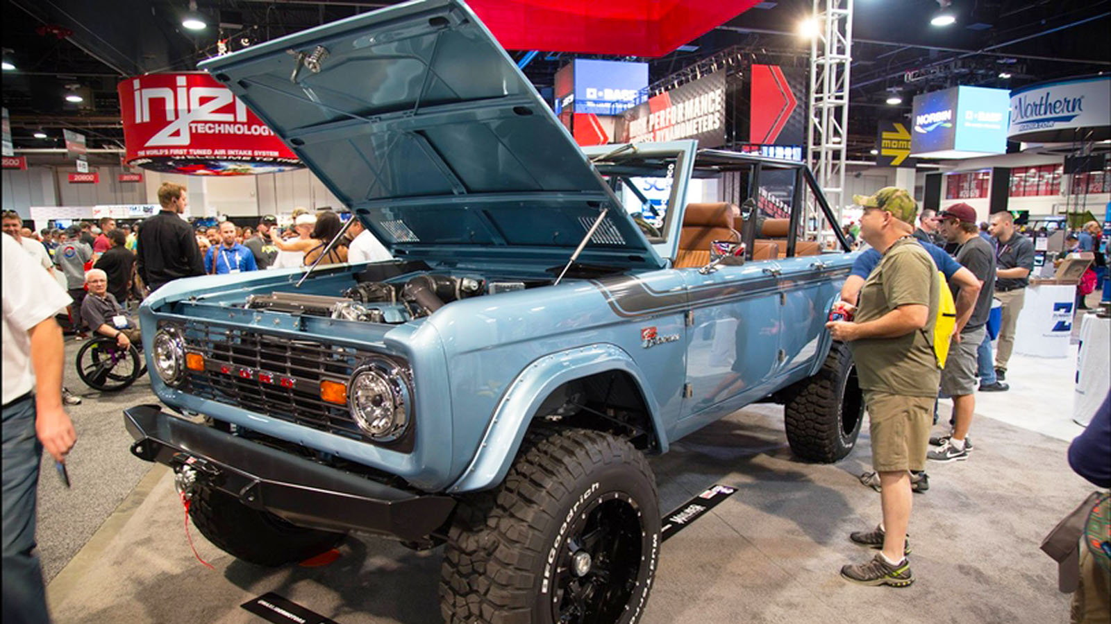 1966 Ford Bronco Maxlider Brothers SEMA