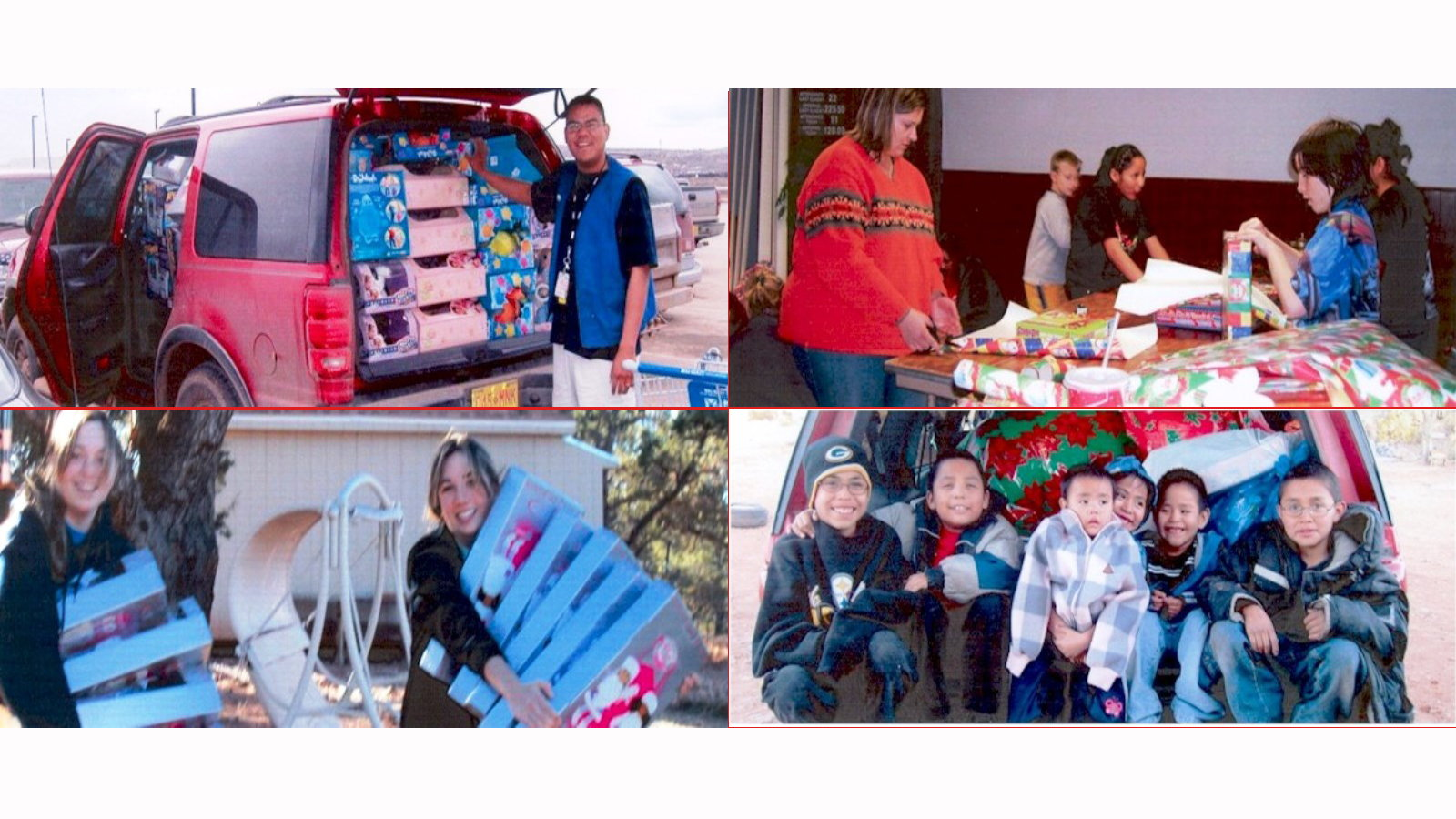 Expedition Full of Gifts for Eastern Navajo Children