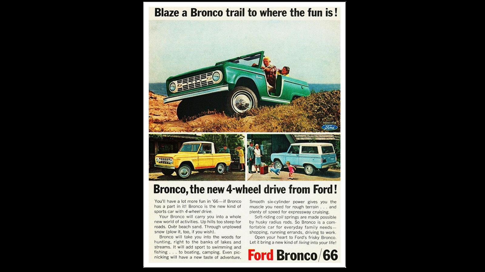 Bronco: The Four Wheel Drive Sports Car