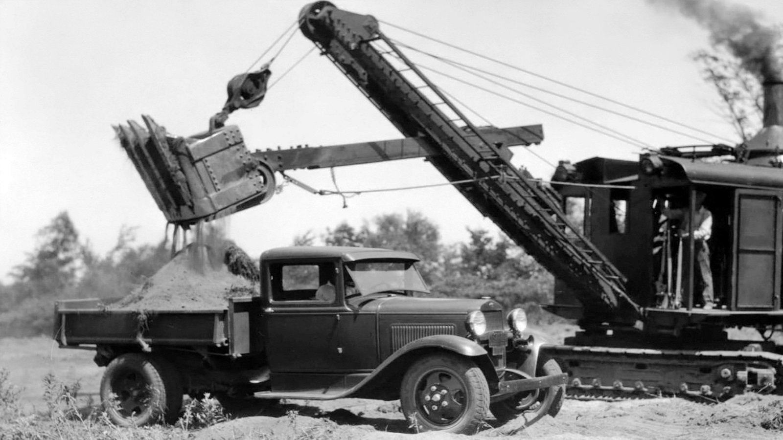 Ford Model AA dump truck