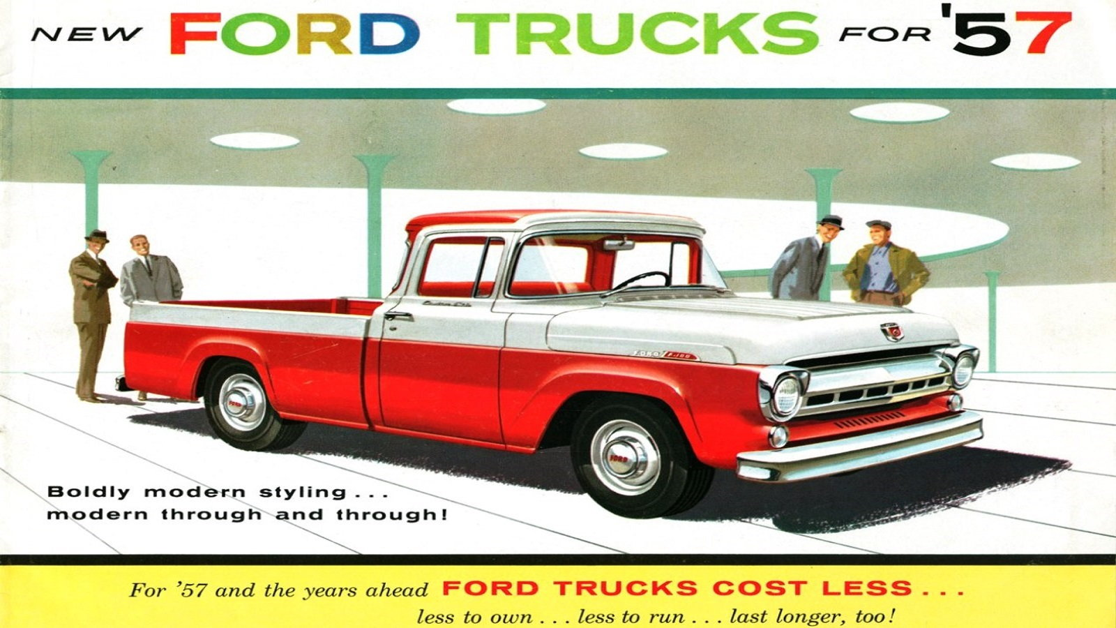 The 1957 Ford F-100 Styleside
