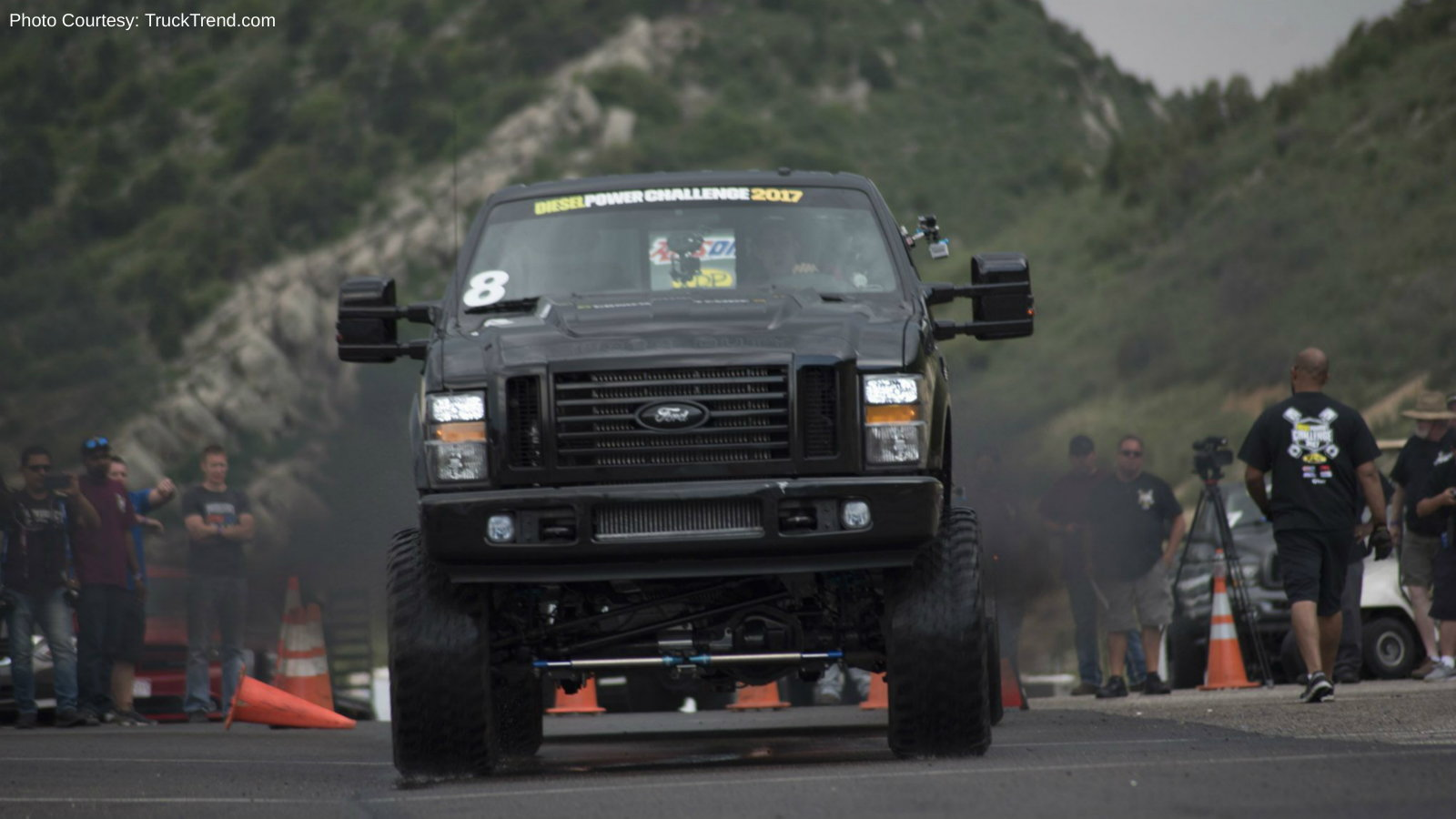 Diesel Power Challenge - Trailer-Tow Obstacle Course