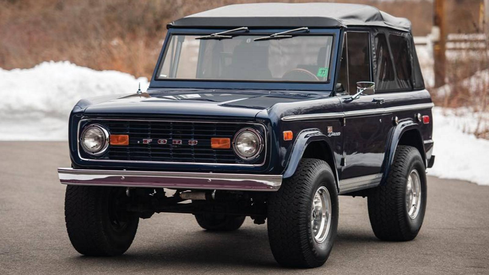1975 Ford Bronco Is One Tastefully Done Restomod