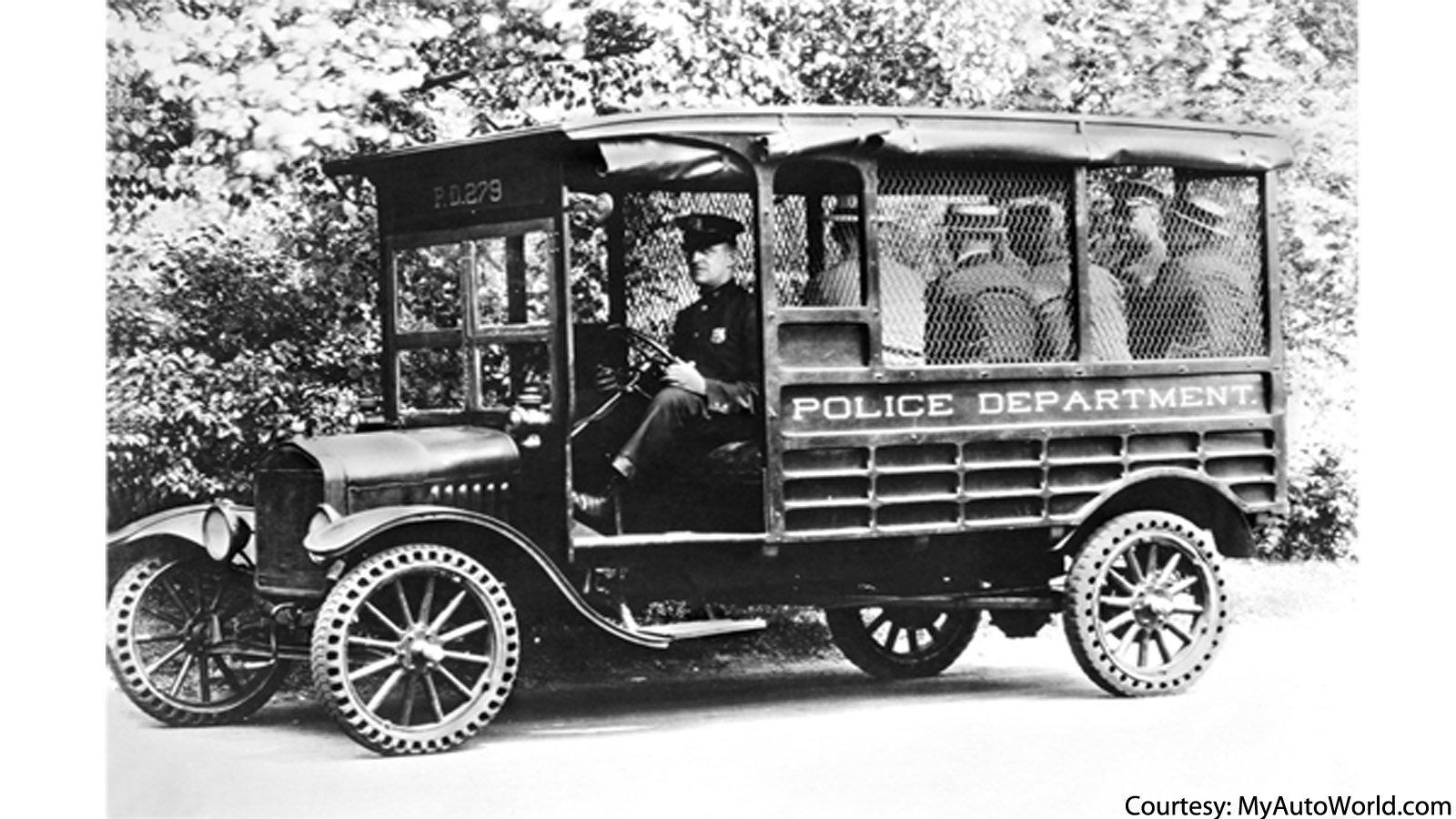 Model T Police Truck
