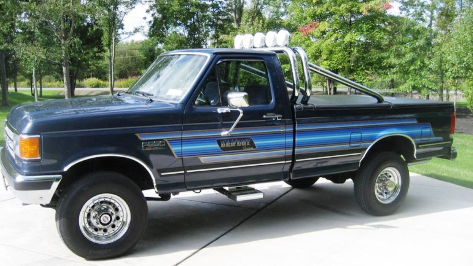 7. 1987 Ford F-150 Bigfoot Cruiser