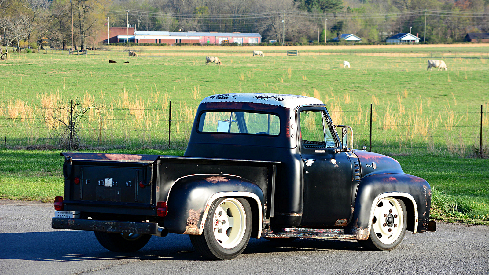 1955 Diesel-Powered F-100 Isn't Your Average Project Truck